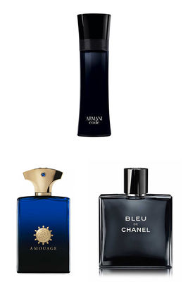 Best Perfume - Amouage - Chanel - Giorgio Armani Men Perfume Set