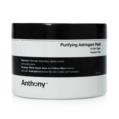 Anthony - Anthony Astringent Toner Pads 60 Count