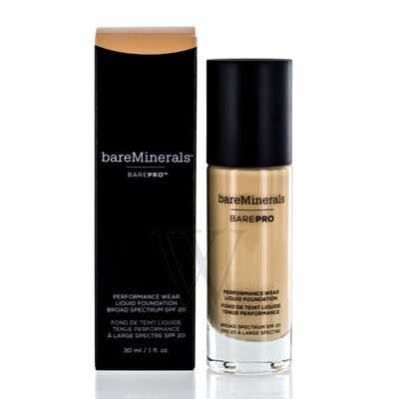 bareMinerals - bareMinerals Barepro Performance Wear Liquid Foundation SPF 20 - 12 Warm Natural 1 oz