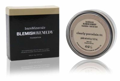 bareMinerals - bareMinerals Blemish Remedy Foundation - Clearly Porcelain 01 0.21 oz