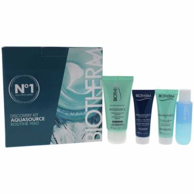 Biotherm - Biotherm Aquasource Discovery Kit 4 Pc Kit