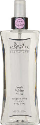 Body Fantasies - Body Fantasies Signature Fresh White Musk Fragrance Body Spray 8 oz