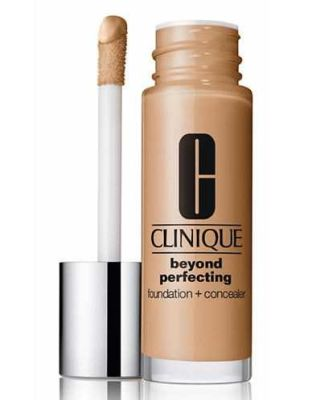 Clinique - Clinique Beyond Perfecting Foundation + Concealer11 Honey (MF-G)-Dry Comb. To Comb. Oily 1 oz