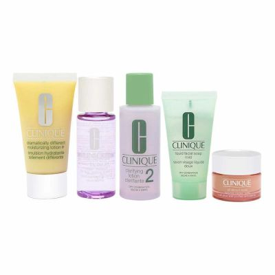Clinique - Clinique Daily Essentials Set - Dry Combination Skin 5 Pc Set