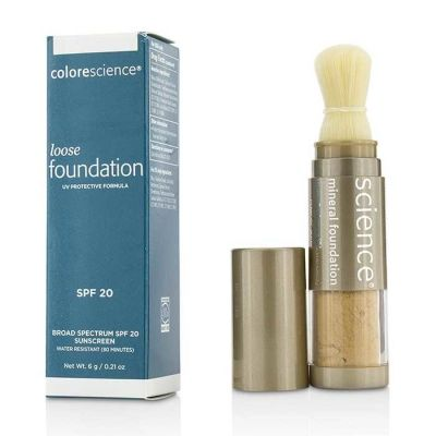 Colorescience - Colorescience Loose Mineral Foundation Brush SPF 20 - Tan Natural 0.21 oz