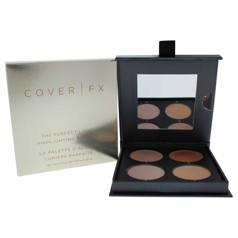 Cover FX The Perfect Light Highlighting Palette - Light Medium 0.38 oz