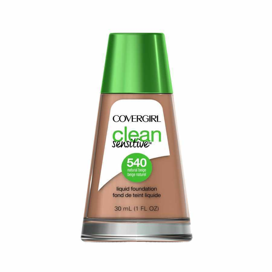 CoverGirl Clean Sensitive Liquid Foundation - 540 Natural Beige 1 oz