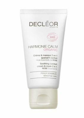 Decleor - Decleor Harmonie Calm Organic Soothing Comfort 2-In-1 Cream and Mask 1.69 oz