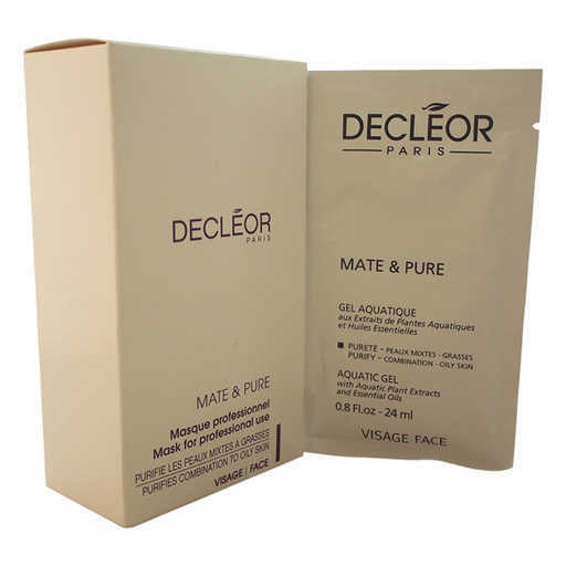 Decleor Mate & Pure Mask Vegetal Powder For Combination To Oily Skin 10 Pc Kit