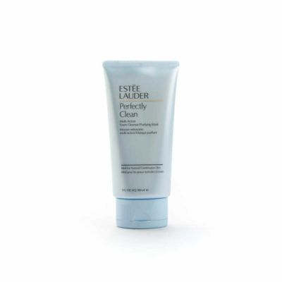Estee Lauder - Estee Lauder Perfectly Clean Multi-Action Foam Cleanser/Purifying Mask - All Skin Types 5 oz