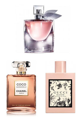 Best Perfume - Gucci - Chanel - Lancome Women Perfume Set