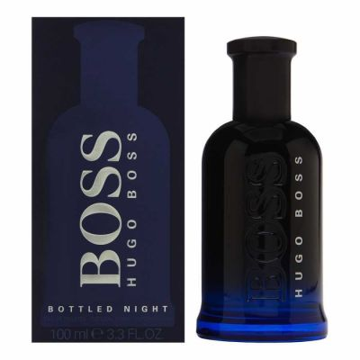 Hugo Boss - Hugo Boss Bottled Night EDT 100 ML (3.3oz) Men Perfume (Original)