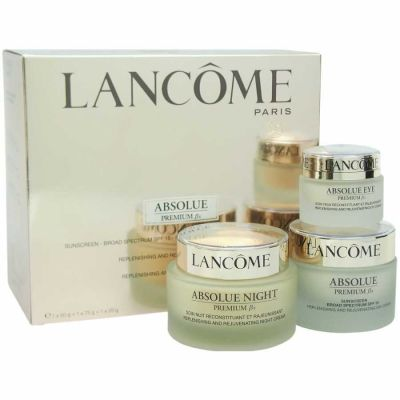 Lancome - Lancome Absolue Premium Bx - Replenishing and Rejuvenating Day-Night & Eyes Ritual Set 3 Pc Set