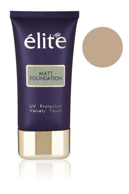 Elite - Matt Foundation UV Protection Velvety Touch (Mat Foundation) - 3003M (HEADLIGHT GIFT)