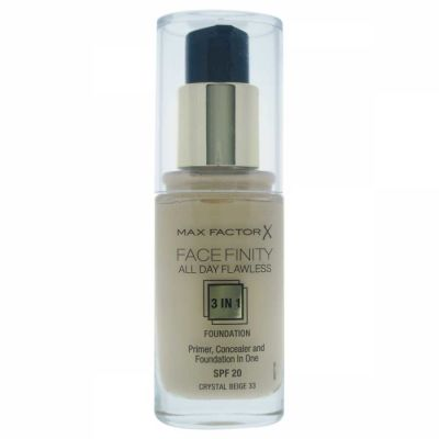 Max Factor - Max Factor Facefinity All Day Flawless 3 In 1 Foundation SPF 20 - 33 Crystal Beige 30 ml