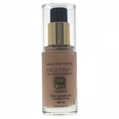 Max Factor - Max Factor Facefinity All Day Flawless 3 In 1 Foundation SPF 20 - 35 Pearl Beige 30 ml