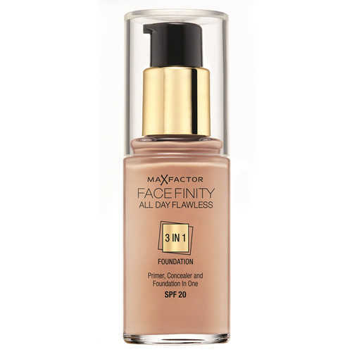 Max Factor Facefinity All Day Flawless 3 In 1 Foundation SPF 20 - 45 Warm Almond 30 ml