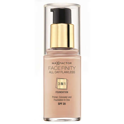 Max Factor Facefinity All Day Flawless 3 In 1 Foundation SPF20 - 60 Sand 30 ml