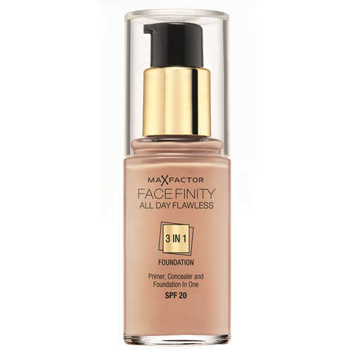 Max Factor Facefinity All Day Flawless 3 In 1 Foundation SPF20 - 75 Golden 1 oz