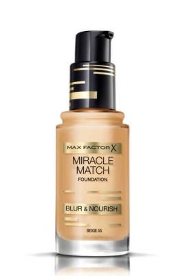 Max Factor - Max Factor Miracle Match Foundation - 55 Beige 1 oz