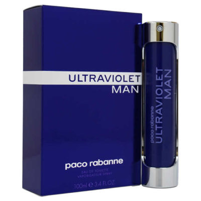 Paco Rabanne - Paco Rabanne Ultraviolet EDT 100 ML (3.4oz) Men Perfume (Original)