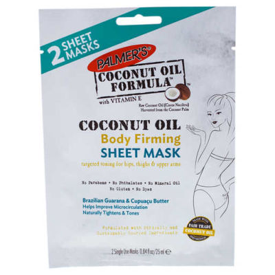 Palmers - Palmers Coconut Oil Body Firming Sheet Mask 0.84 oz