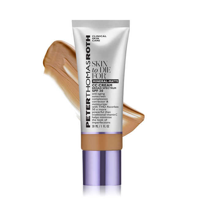 Peter Thomas Roth Skin To Die For Mineral-Matte CC Cream SPF 30 - Tan 1 oz