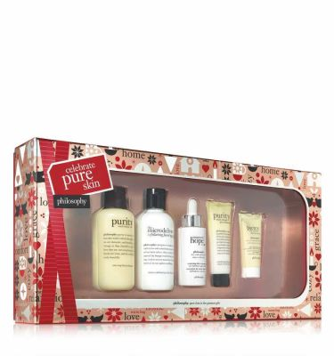 Philosophy - Philosophy Celebrate Pure Skin Kit 5 Pc