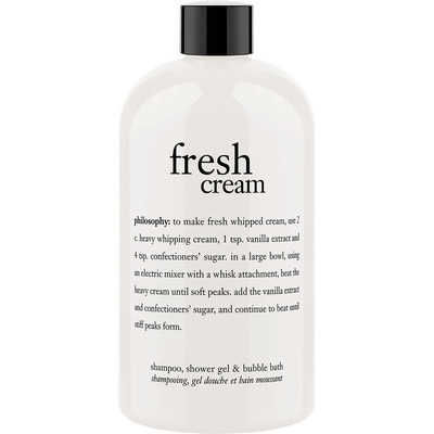 Philosophy - Philosophy Fresh Cream Shampoo, Shower Gel & Bubble Bath 16 oz