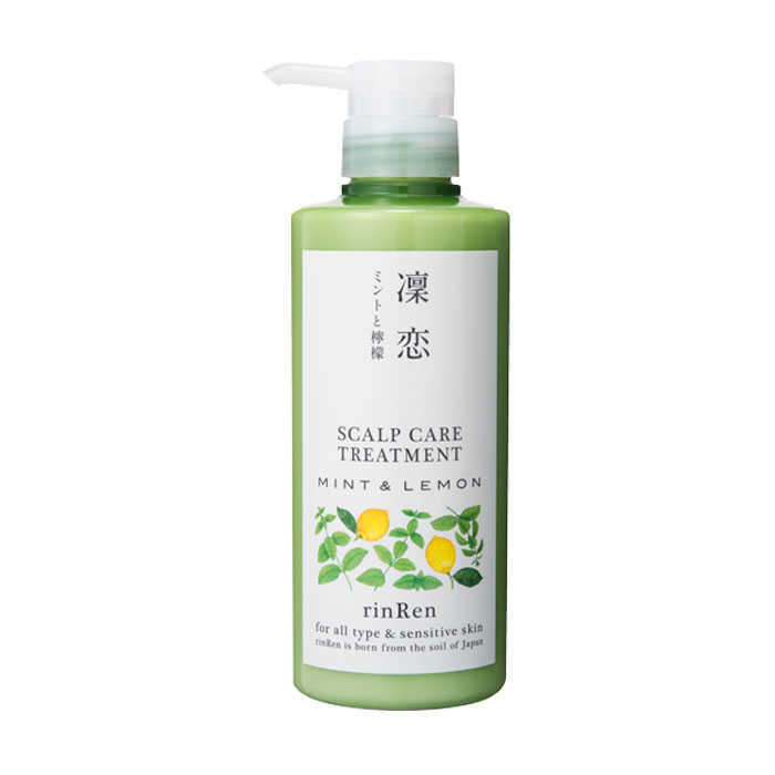 RinRen Scalp Care Treatment Mint and Lemon 13.5 oz