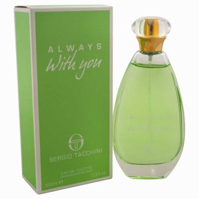 Sergio Tacchini - Sergio Tacchini Always With You EDT 100 ML (3.3oz) Women Perfume (Original)