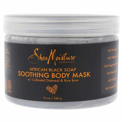 Shea Moisture - Shea Moisture African Black Soap Soothing Body Mask 12 oz