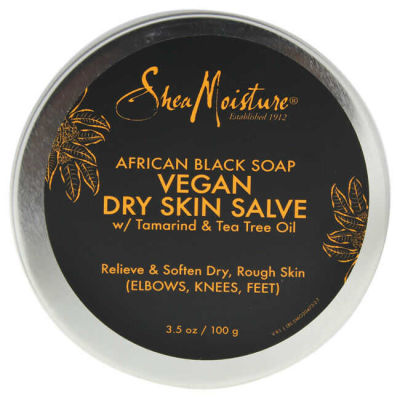 Shea Moisture - Shea Moisture African Black Soap Vegan Salve Cream 3.5 oz