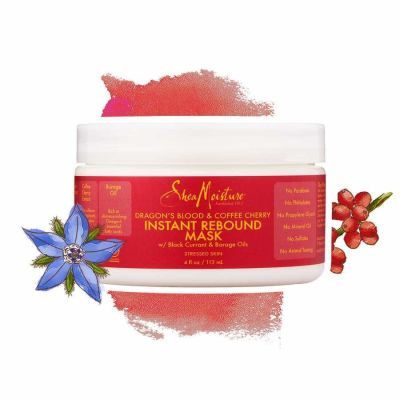 Shea Moisture - Shea Moisture Dragons Blood & Coffee Cherry Instant Rebound Mask 4 oz