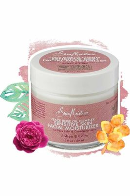 Shea Moisture - Shea Moisture Peace Rose Oil Complex Sensitive Skin Facial Moisturizer 2 oz
