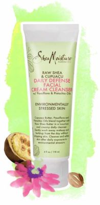 Shea Moisture - Shea Moisture Raw Shea & Cupuacu Daily Defense Facial Cream Cleanser 4 oz
