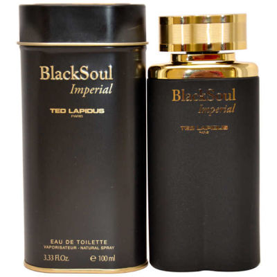Ted Lapidus - Ted Lapidus Black Soul Imperial EDT 100 ML (3.4oz) Men Perfume (Original)