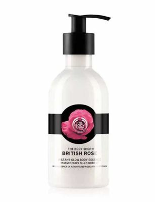 The Body Shop - The Body Shop British Rose Instant Glow Body Essence 8.4 oz