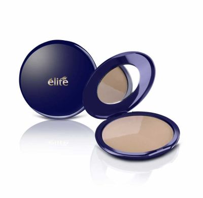 Elite - Triple Compact Powder (Triple Powder) - 3009 (Headlight Gift)
