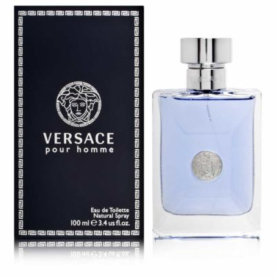 Versace - Versace Pour Homme EDT 100 ML (3.4oz) Men Perfume (Original)