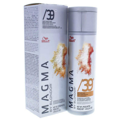 Wella - Wella Magma by Blondor Pigmented Lightener - 39 Plus Gold Cendre Dark 4.2 oz