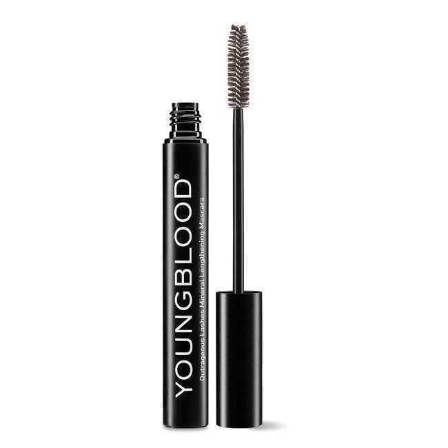 Youngblood Outrageous Lashes Mineral Lengthening Mascara - Mink 0.34 oz